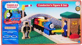 Thomas the Tank Engine & Friends Wooden Railway Conductor's Figure 8 Set