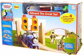 Thomas the Tank Train & Friends Wooden Railway Figure Edward The Great Set