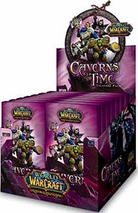 World of Warcraft Caverns of Time Treasure Pack Box [24 Packs]