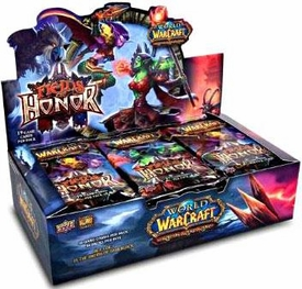World of Warcraft Fields of Honor Booster BOX [24 Packs]