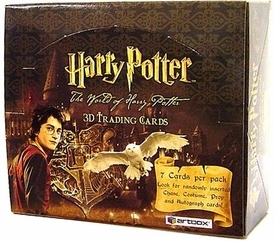 Harry Potter The World of Harry Potter Hobby Version Trading Card Box (24 Packs)