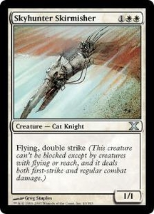 Magic the Gathering Tenth Edition Single Card Uncommon #43 Skyhunter Skirmisher