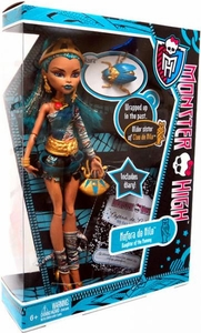 Monster High Deluxe Doll Nefera de Nile with Pet Azura [Doll Stand & Diary]