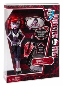 Monster High Deluxe Doll Operetta with Pet Memphis