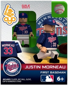 OYO Baseball MLB Generation 2 Building Brick Minifigure Justin Morneau [Minnesota Twins]