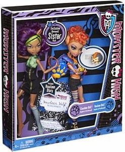 Monster High Exclusive Doll 2-Pack Gift Set Werewolf Sister Pack [Clawdeen & Howleen Wolf]