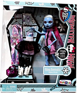 Monster High Exclusive Doll Figure Abbey Bominable [3 Frosty Outfits!]