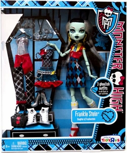 Monster High Exclusive Doll Figure Frankie Stein [3 Ghoulish Outfits!]