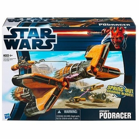 Star Wars 2012 Class II Attack Vehicle Sebulba's Podracer [Episode I]