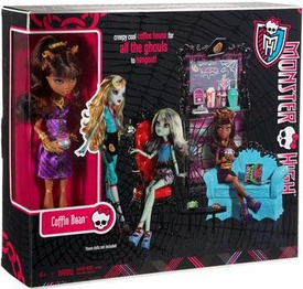 Monster High Playset Coffin Bean with Clawdeen Wolf
