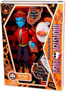 Monster High Deluxe Doll Holt Hyde with Pet Chameleon Crossfade [Doll Stand & Diary]
