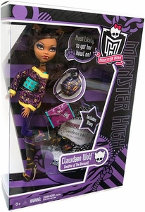 Monster High Deluxe Doll Clawdeen Wolf [Doll Stand & Diary]