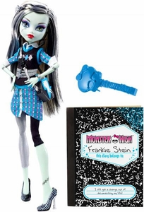 Monster High Deluxe Doll Frankie Stein [Doll Stand & Diary]