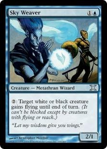 Magic the Gathering Tenth Edition Single Card Uncommon #109 Sky Weaver