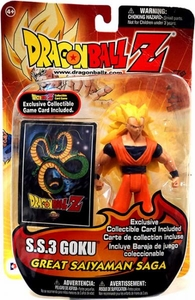 Dragon Ball Z Irwin Toys Great Saiyaman Saga Action Figure S.S.3 Goku
