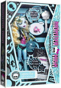 Monster High Deluxe Doll Lagoona Blue with Pet Goldfish Neptuna [Doll Stand & Diary]