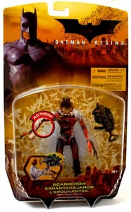 Batman Begins Movie Action Figure Scarecrow with Blood Variant
