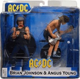 NECA Action Figure 2-Pack AC / DC [Angus Young & Brian Johnson]
