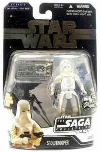 Star Wars Saga 2006 Basic Action Figure Snowtrooper (Ultimate Galactic Hunt)