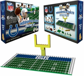 OYO Football NFL Generation 1 Team Field Endzone Set Indianapolis Colts