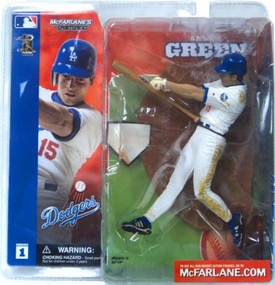 McFarlane Toys MLB Sports Picks Series 1 Action Figure Shawn Green (Los Angeles Dodgers) White Jersey