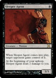 Magic the Gathering Tenth Edition Single Card Rare #178 Sleeper Agent