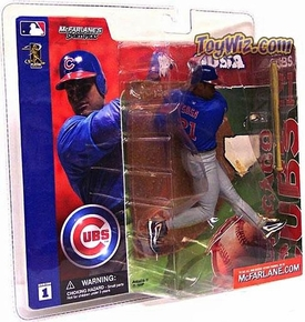 McFarlane Toys MLB Sports Picks Series 1 Action Figure Sammy Sosa (Chicago Cubs) Blue Jersey