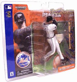 McFarlane Toys MLB Sports Picks Series 1 Action Figure Mike Piazza (New York Mets) White Jersey Variant BLOWOUT SALE!