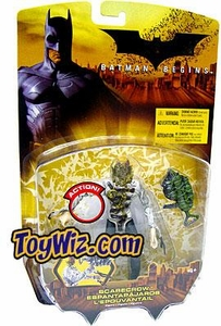 Batman Begins Movie Action Figure Scarecrow BLOWOUT SALE!