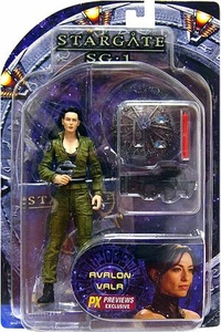 Diamond Select Toys Stargate SG-1 Action Figure Vala Mal Doran [Factory Error]