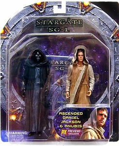 Diamond Select Toys Stargate SG-1 Action Figure Exclusive 2-Pack Ascended Daniel Jackson & Anubis