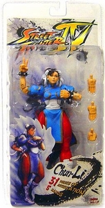 Street Fighter IV NECA Series 2 Player Select Action Figure Chun-Li