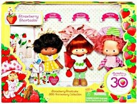 Strawberry Shortcake 30th Anniversary Collection Vintage Style 3-Pack [Strawberry Shortcake, Raspberry Tart & Orange Blossom]