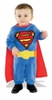 Superman Returns Movie Kids Costume EZ-On Removable Cape & Romper with Underleg Snap Closure #885301INFANT SIZE