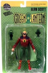 DC Direct JSA Action Figure Green Lantern Alan Scott