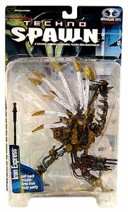 McFarlane Toys Spawn Series 15 Techno Spawn Action Figure Iron Express