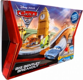 Disney / Pixar CARS 2 Movie Track Set Big Bentley Breakout