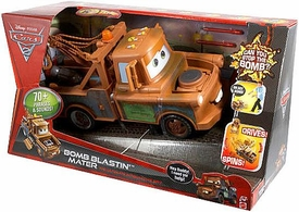 Disney / Pixar CARS 2 Movie Exclusive Playset The Ultimate Interactive Spy Bomb Blastin' Mater