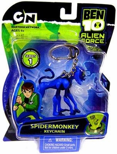 Ben 10 Alien Force Series 1 Keychain Spidermonkey