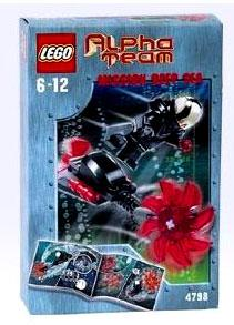 LEGO Alpha Team Set #4798 Mission Deep Sea Evil Ogel Attack