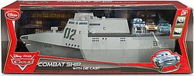 Disney / Pixar CARS 2 Movie Exclusive Lights & Sounds Playset Combat Ship [Includes Finn, Grem & Acer 1:48 Die Cast Cars]