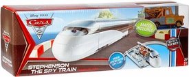 Disney / Pixar CARS 2 Movie Exclusive Playset Stephenson The Spy Train [Includes Mater]
