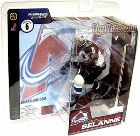McFarlane Toys NHL Sports Picks Series 6 Action Figure Teemu Selanne (Colorado Avalanche)