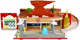 Disney / Pixar CARS 2 Movie Stow 'N Go Playset Radiator Springs Playtown