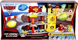 Disney / Pixar CARS 2 Movie Exclusive Playset Pit Crew Garage [Working Elevator!]