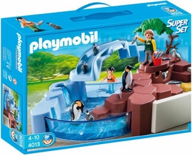 Playmobil Zoo Set #4013 Super Set Penguin Habitat