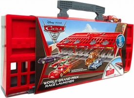 Disney / Pixar CARS 2 Movie World Grand Prix Race Launcher