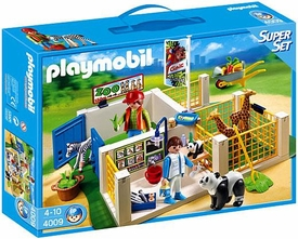 Playmobil Zoo Set #4009 Super Set Animal Care Station
