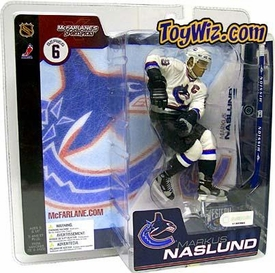 McFarlane Toys NHL Sports Picks Series 6 Action Figure Markus Naslund (Vancouver Canucks) White Jersey Variant