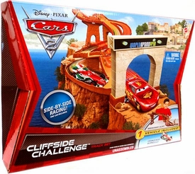 Disney / Pixar CARS 2 Movie Track Set Cliffside Challenge